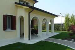 abitazione privata a istrana provincia di treviso costruita dall'impresa edile deon group