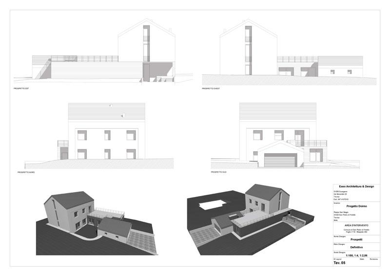 abitazione privata di nuova costruzione a san pietro di feletto deon group costruzioni edili istrana (tv)